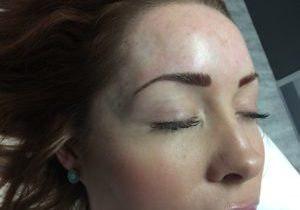 brow tattoo